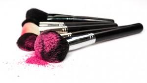 maquillage blush et poudre