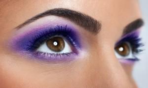 maquillage yeux, cils, paupière et sourcils